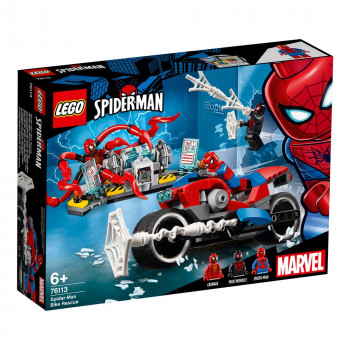 LEGO SUPER HEROES SPIDER-MAN BIKE RESCUE
