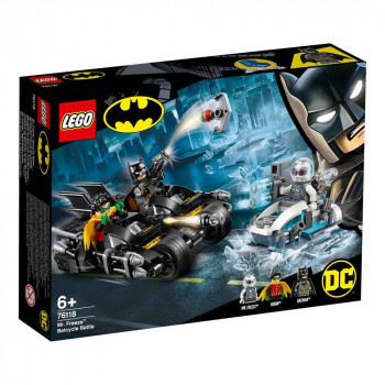 LEGO SUPER HEROES BATMAN MR. FREEZE BATCYCLE BATTLE