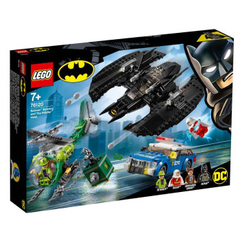 LEGO SUPER HEROES BATMAN BATMAN BATWING AND THE RIDDLER HEIST