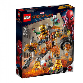 LEGO SUPER HEROES MOLTEN MAN BATTLE