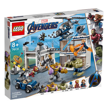 LEGO SUPER HEROES AVENGERS COMPOUND BATTLE