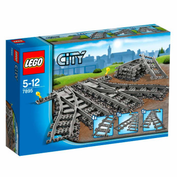 LEGO CITY SWITCH TRACKS SINE