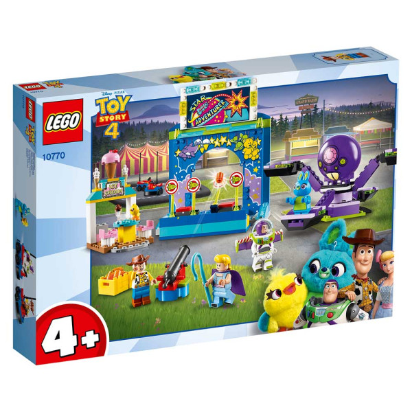 LEGO JUNIORS BUZZ AND WOODY'S CARNIVAL MANIA