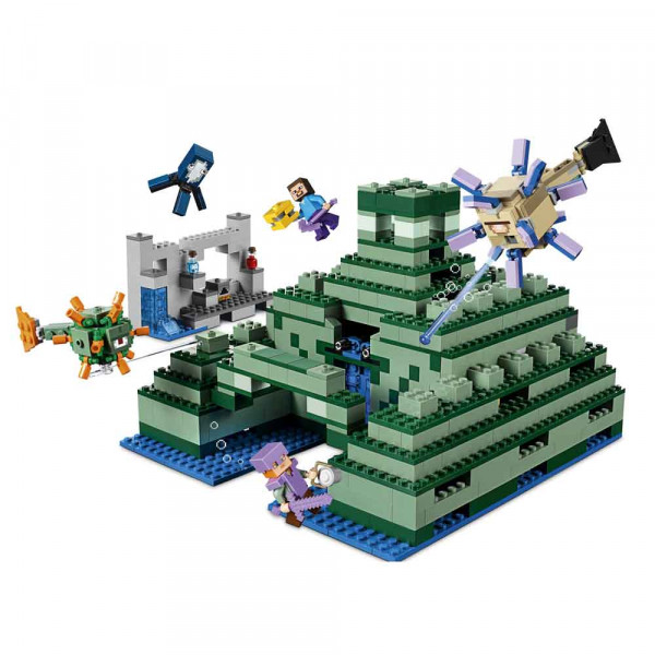 LEGO MINECRAFT THE OCEAN MONUMENT