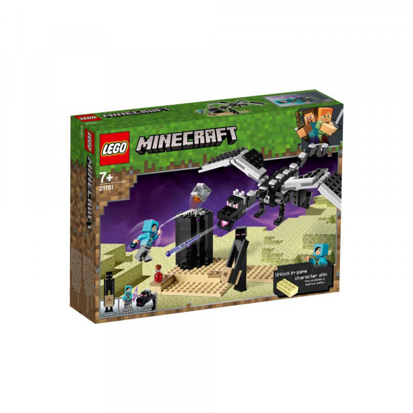 LEGO MINECRAFT THE END BATTLE