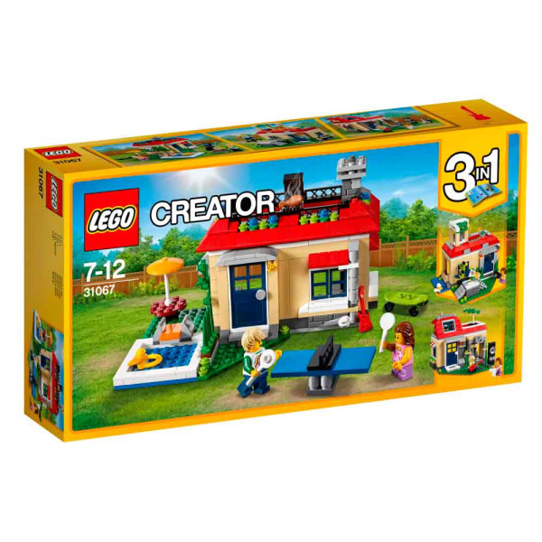 LEGO CREATOR MODULAR POOLSIDE HOLIDAY