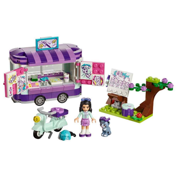 LEGO FRIENDS EMMAS ART STAND