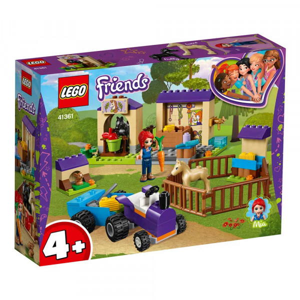 LEGO FRIENDS MIA'S FOAL STABLE
