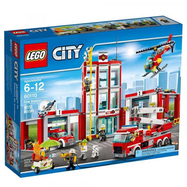 LEGO CITY FIRE STATION