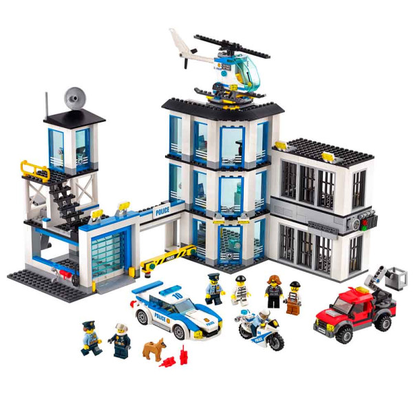 LEGO CITY POLICE STATION