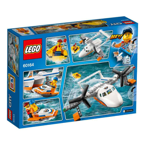 LEGO CITY SEA RESCUE PLANE