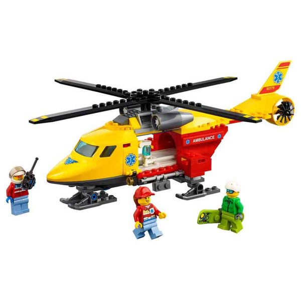 LEGO CITY AMBULANCE HELIKOPTER