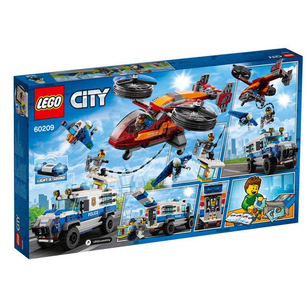 LEGO CITY SKY POLICE DIAMOND HEIST