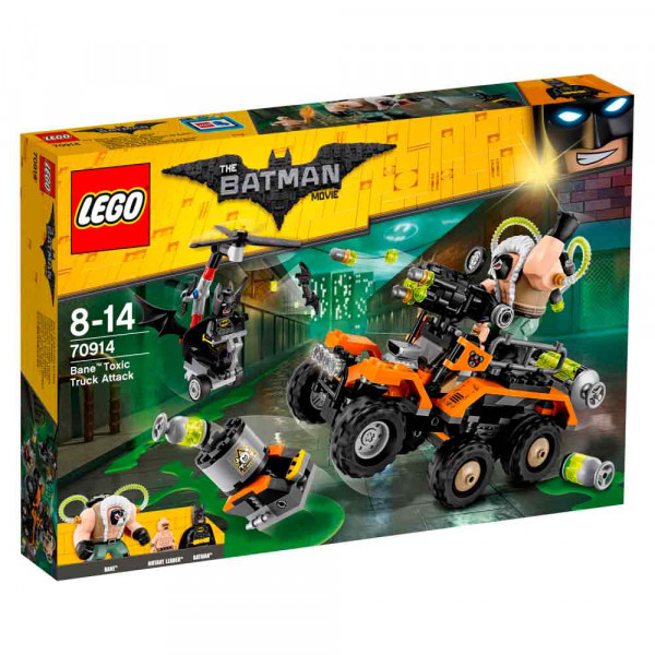 LEGO BATMAN MOVIE VILLAIN TRUCK ATTACK VEHICLE 7