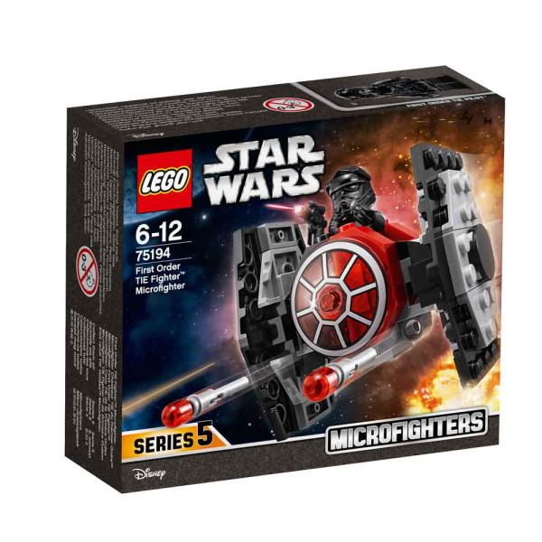 LEGO STAR WARS FIRST ORDER TIE FIGHTER MICROFIGHTERS