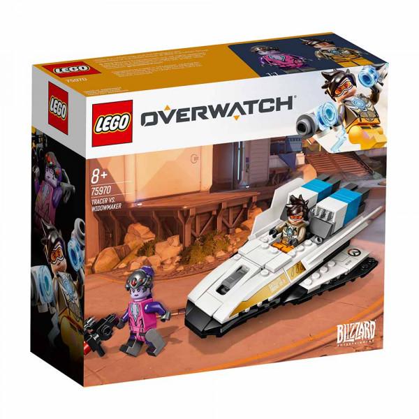 LEGO OVERWATCH TRACER VS WIDOWMAKER