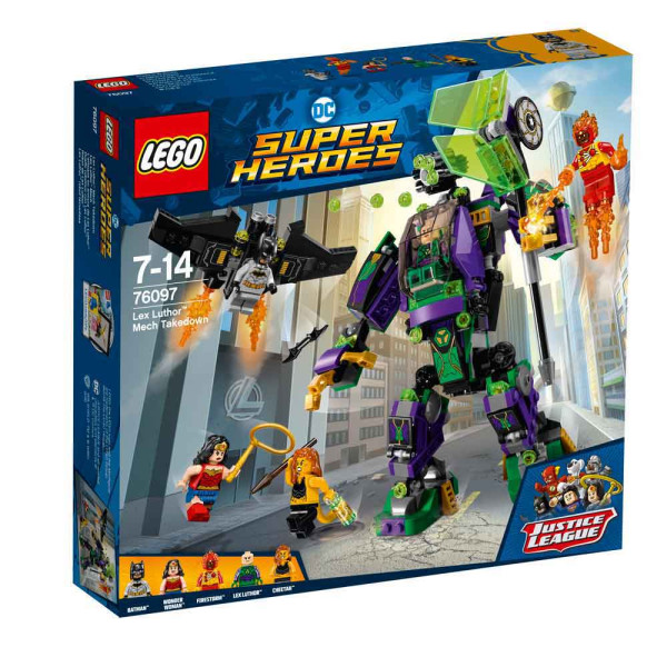 LEGO SUPER HEROES LEX LUTHOR MECH TAKEDOWN