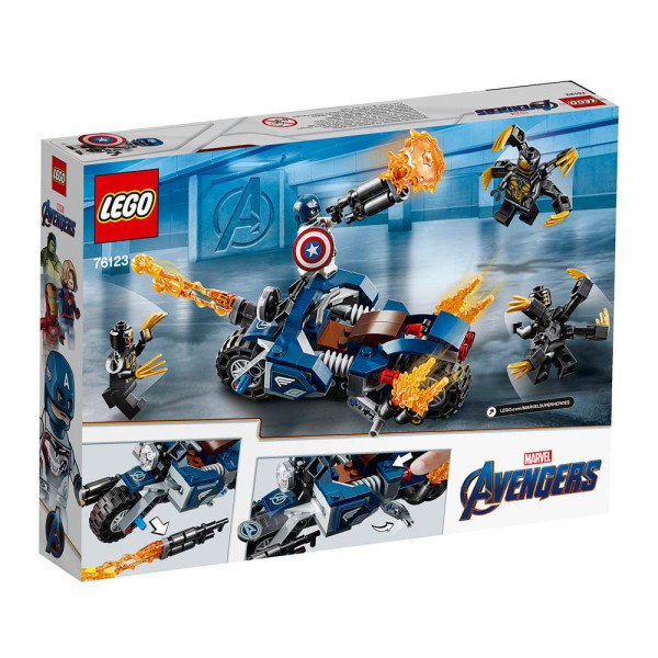 LEGO SUPER HEROES CAPTAIN AMERICA: OUTRIDERS