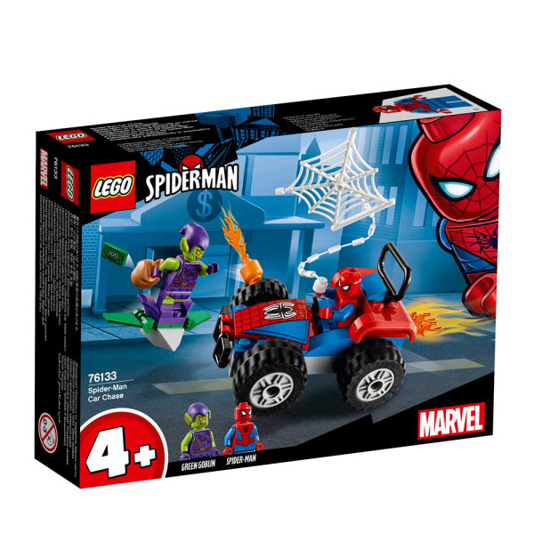LEGO SUPER HEROES SPIDER-MAN CAR CHASE