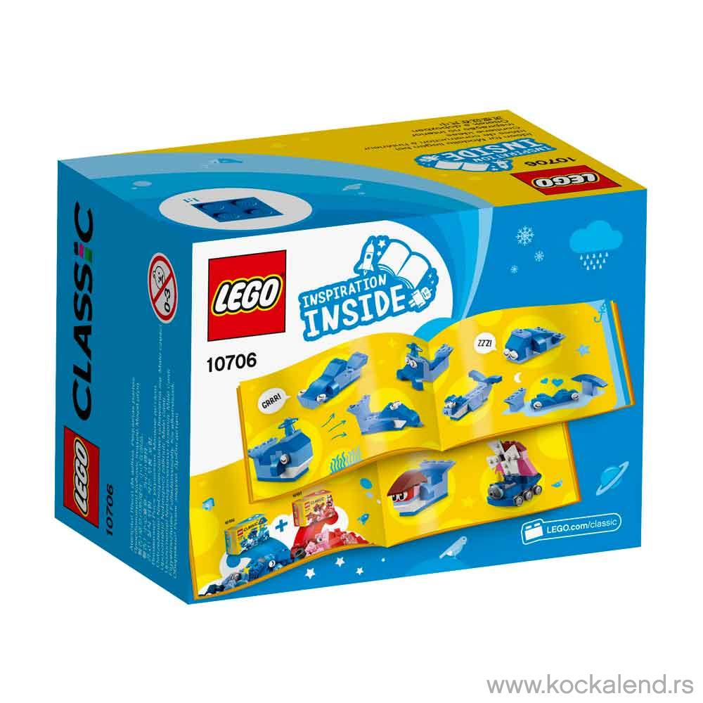 LEGO CLASSIC BLUE CREATIVITY BOX
