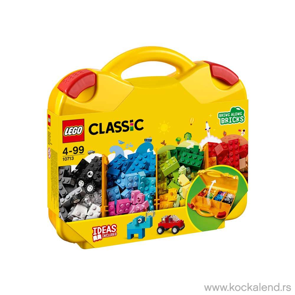 LEGO CLASSIC CREATIVE SUITCASE
