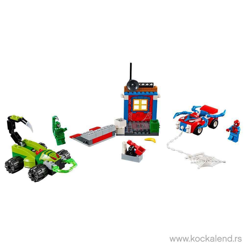 LEGO JUNIORS Spider-Man vs. Scorpion Street Showdown