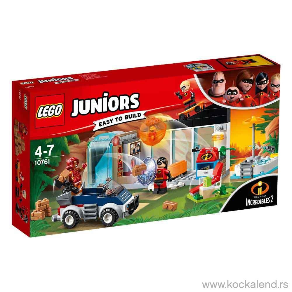 LEGO JUNIORS THE GREAT HOME ESCAPE