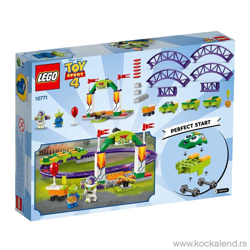 LEGO JUNIORS CARNIVAL THRILL COASTER