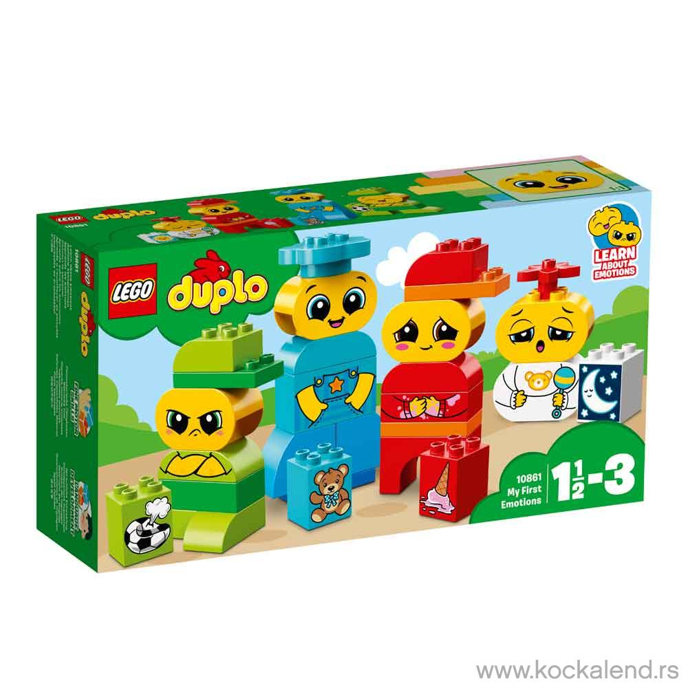 LEGO DUPLO MY FIRST EMOTIONS