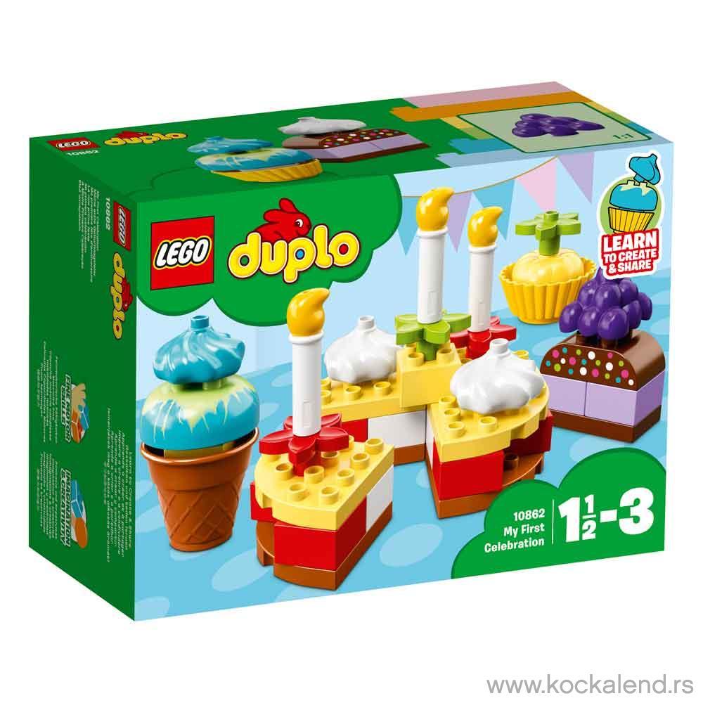 LEGO DUPLO MY FIRST CELEBRATION