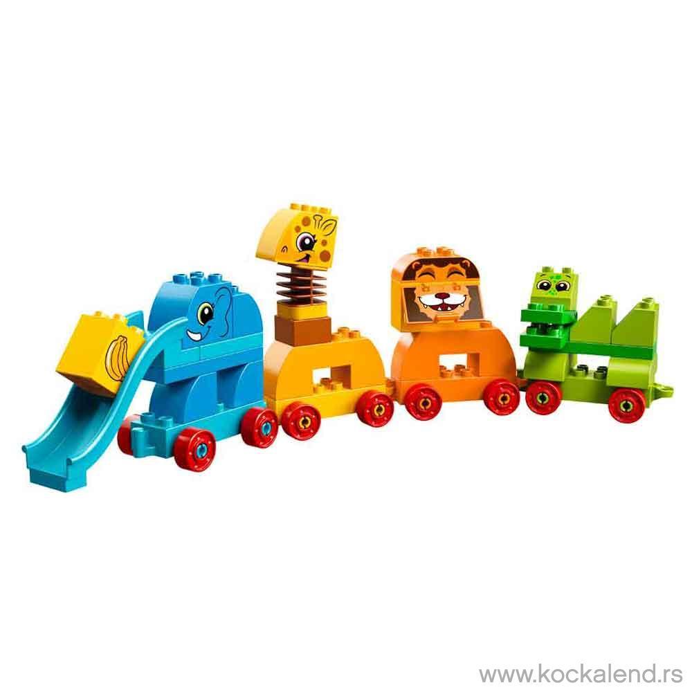 LEGO DUPLO MY FIRST ANIIMAL BRICK BOX