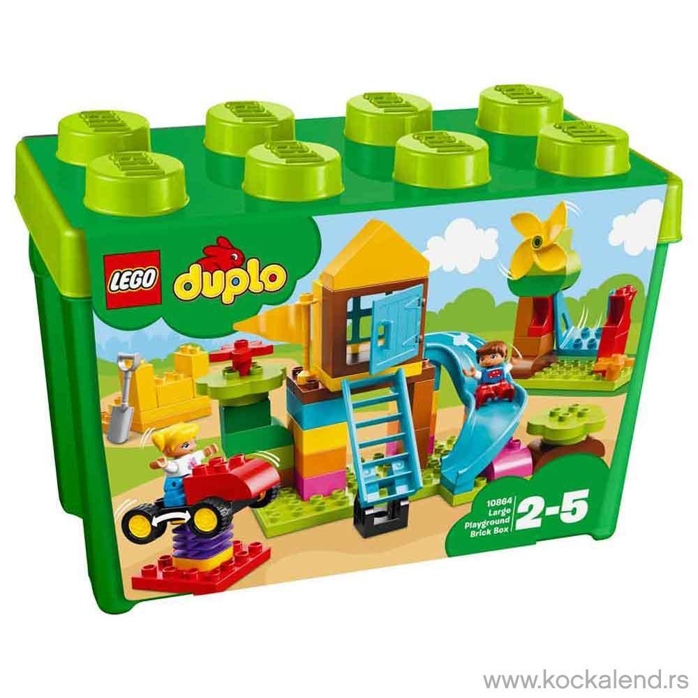 LEGO DUPLO MY FIRST LARGE PLAYGROUND BRICKS BOX