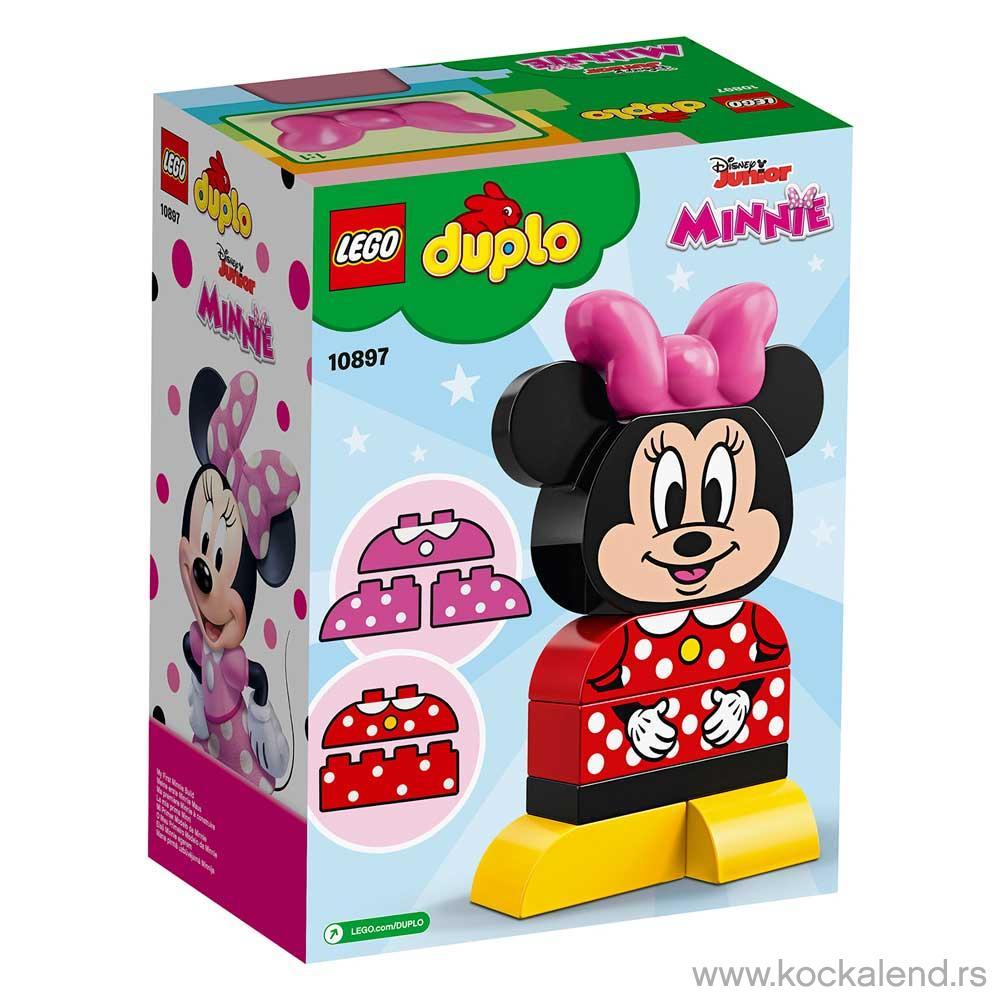LEGO DUPLO MY FIRST MINNIE BUILD