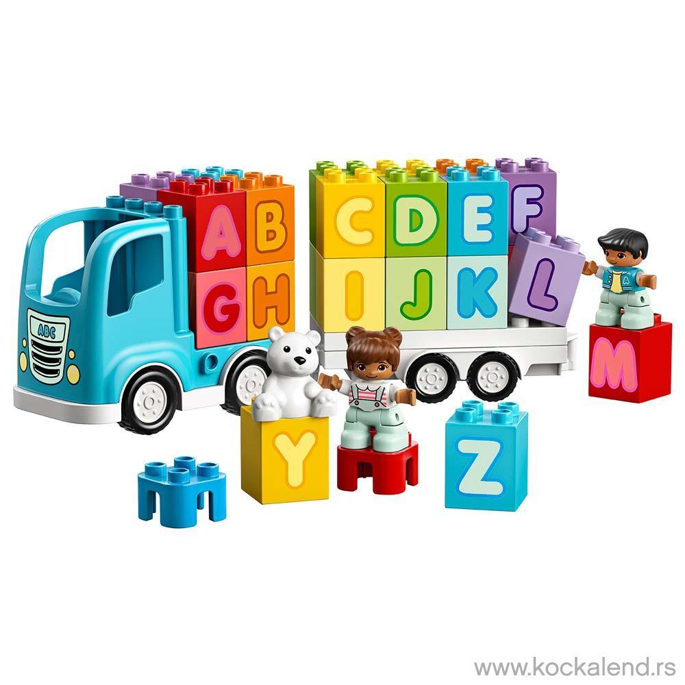 LEGO DUPLO MY FIRST ALPHABET TRUCK