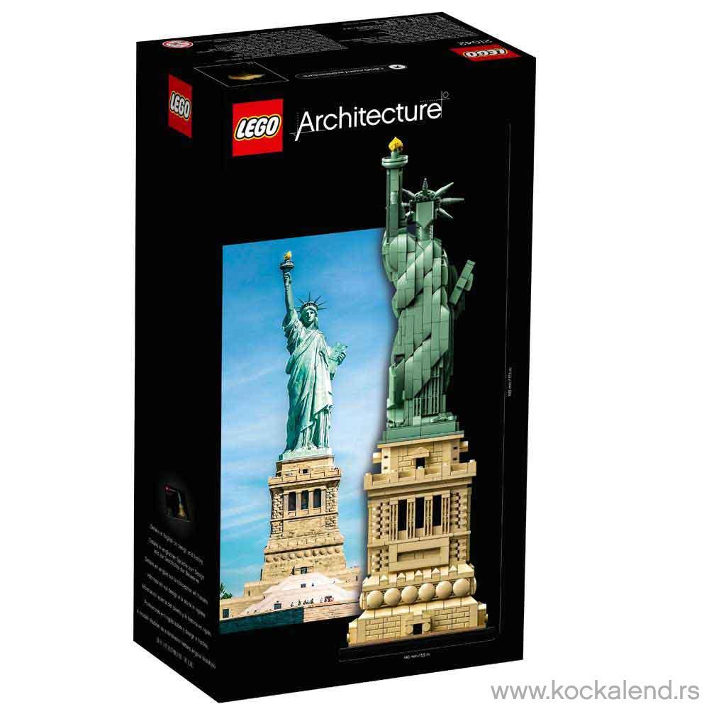 LEGO ARCHITECTURE STATUE OF LIBERTY