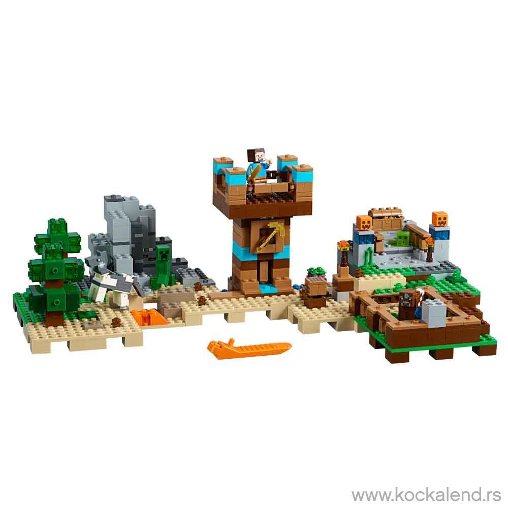 LEGO MINECRAFT THE CRAFTING BOX
