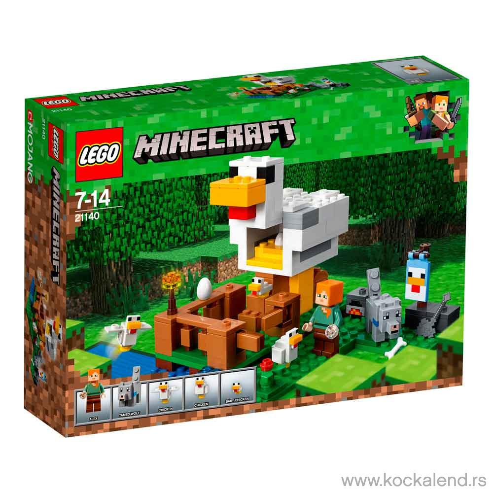 LEGO MINECRAFT THE CHICKEN COOP