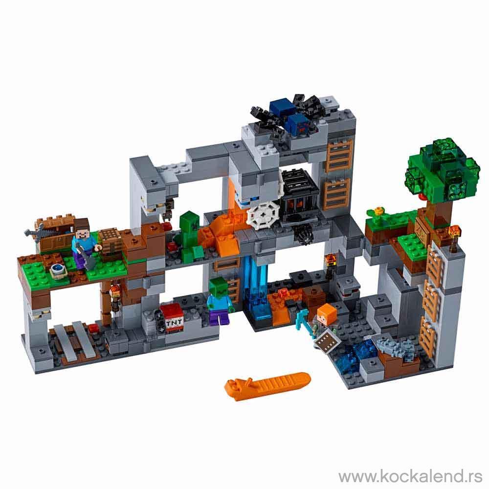 LEGO MINECRAFT THE BEDROCK ADVENTURES