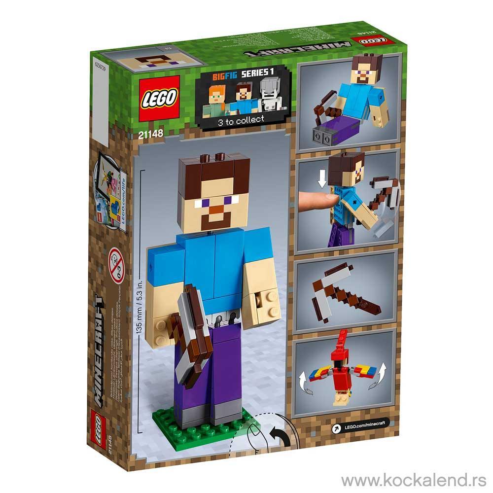 LEGO MINECRAFT MINECRAFT? STEVE BIGFIG