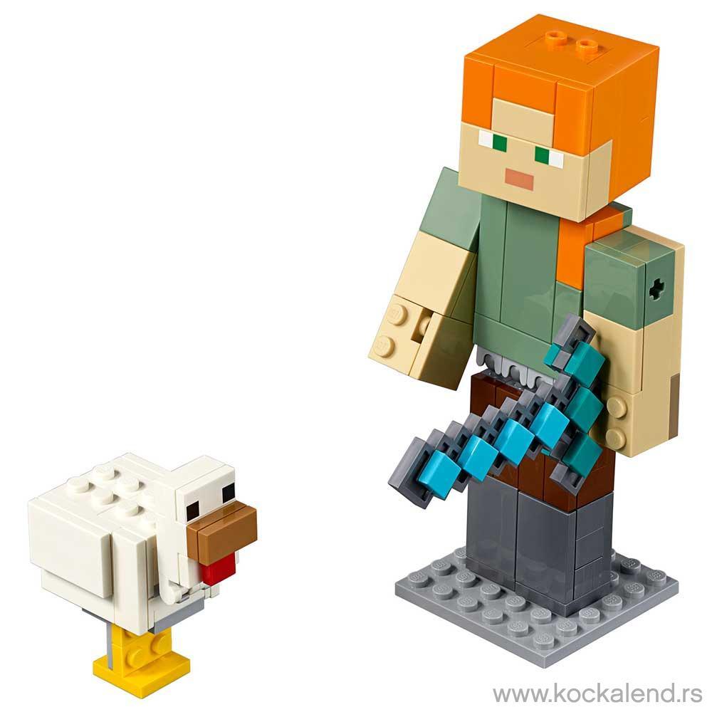 LEGO MINECRAFT MINECRAFT? ALEX BIGFIG
