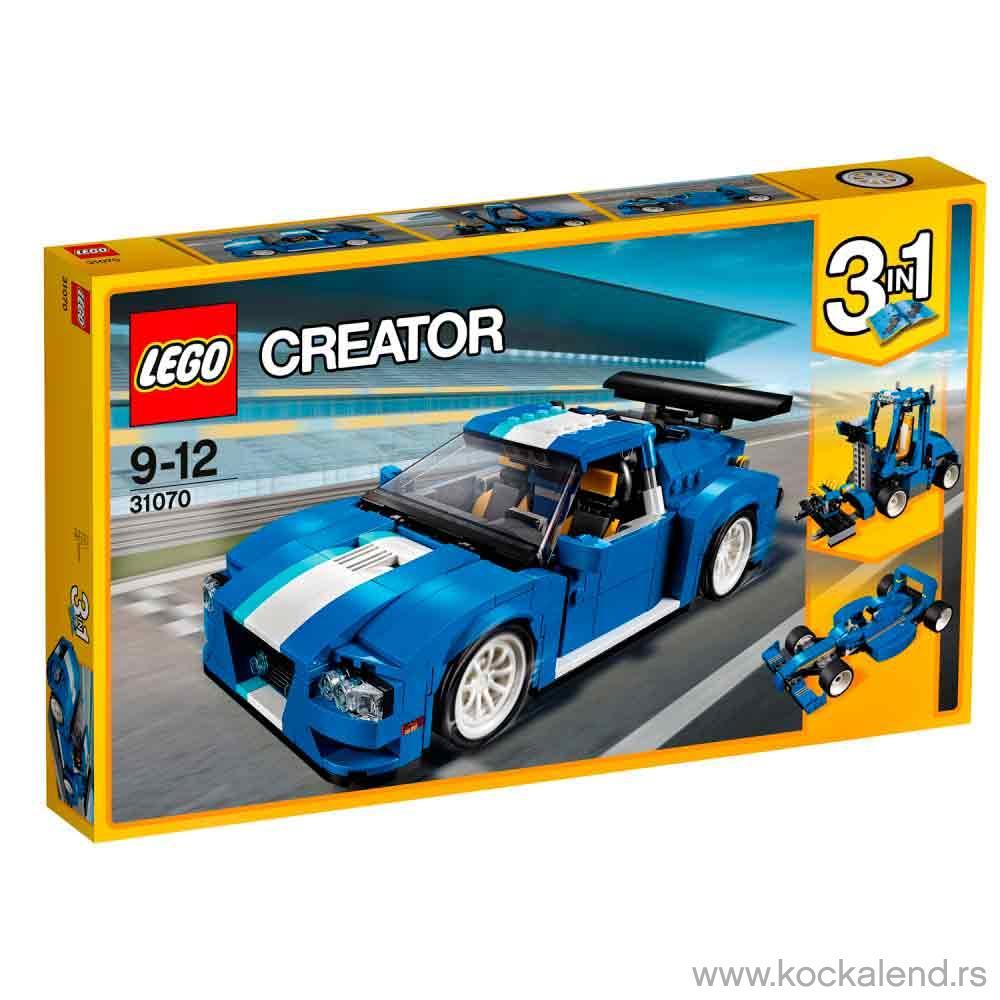 LEGO CREATOR TURBO TRACK RACER