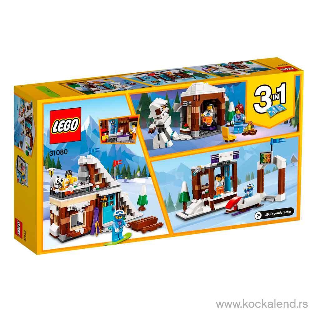 LEGO CREATOR MODULAR WINTER VACATION