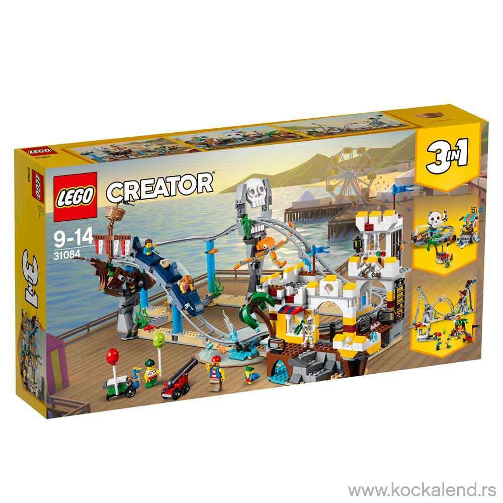 LEGO CREATOR PIRATE ROLLER COASTER