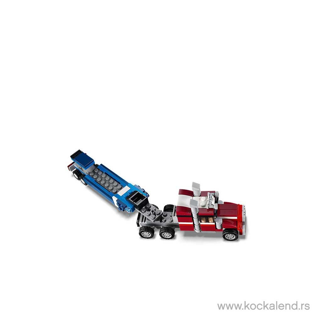 LEGO CREATOR SHUTTLE TRANSPORTER