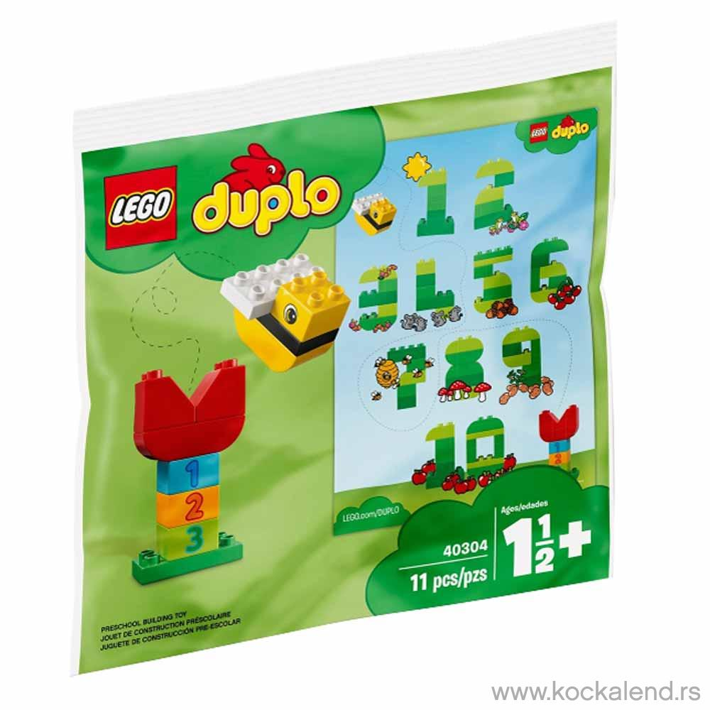 LEGO DUPLO LEARNING NUMBERS KESICA