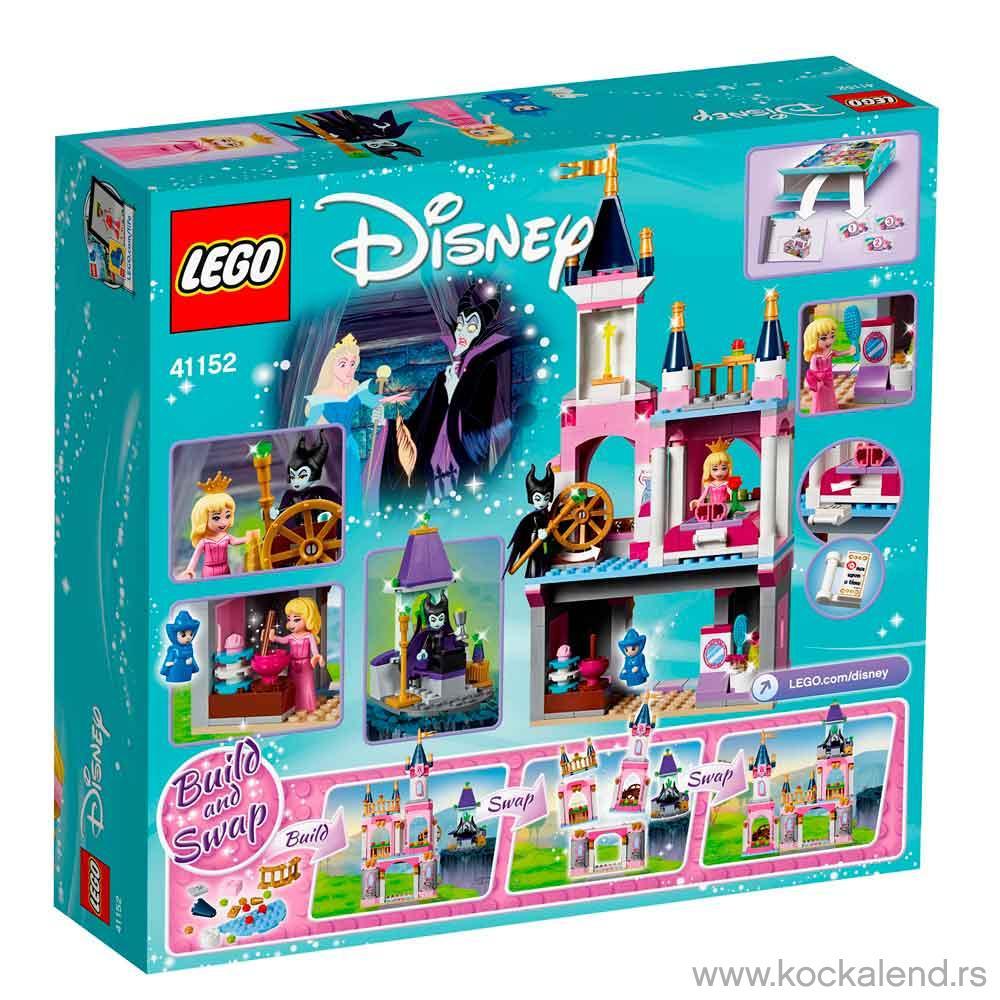LEGO DISNEY PRINCESS SLEEPING BEAUTYS FAIRYTAILE CASTLE