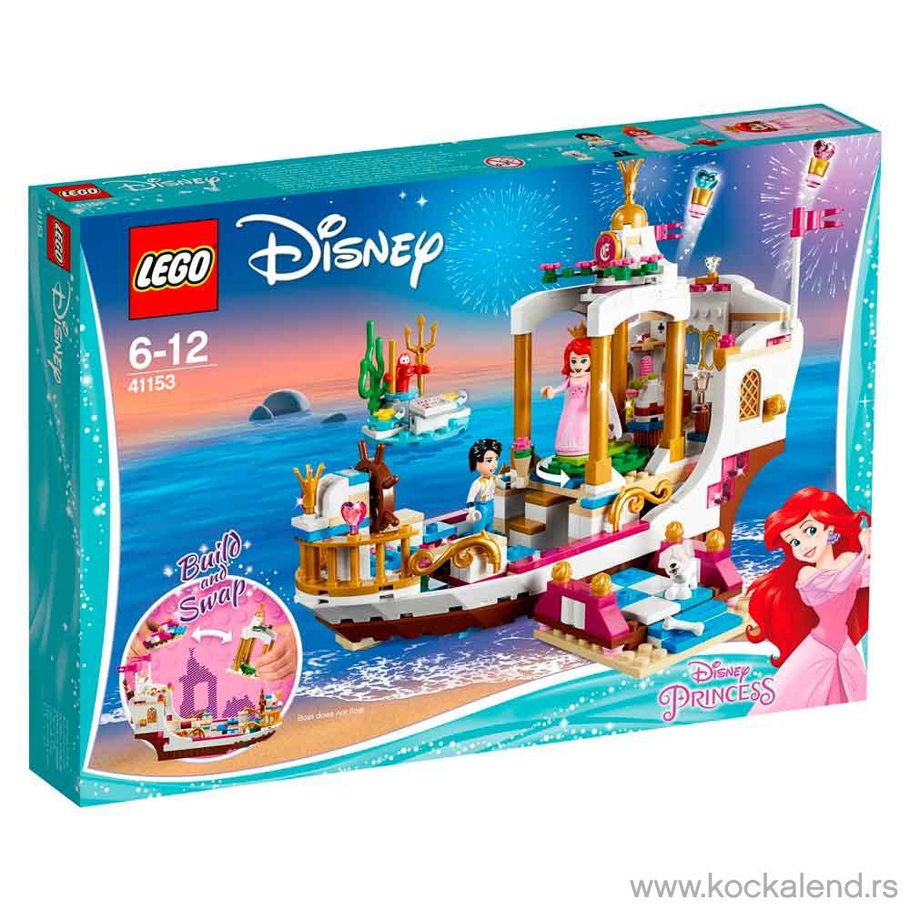 LEGO DISNEY PRINCESS ARIELS ROYAL CELEBRATION BOAT