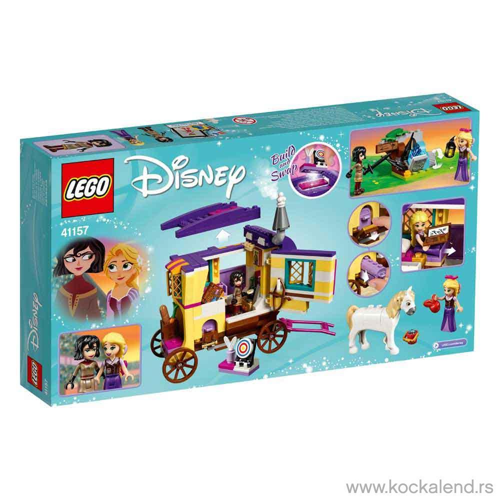 LEGO DISNEY PRINCESS RAPUNZEL'S TRAVELING CARAVAN