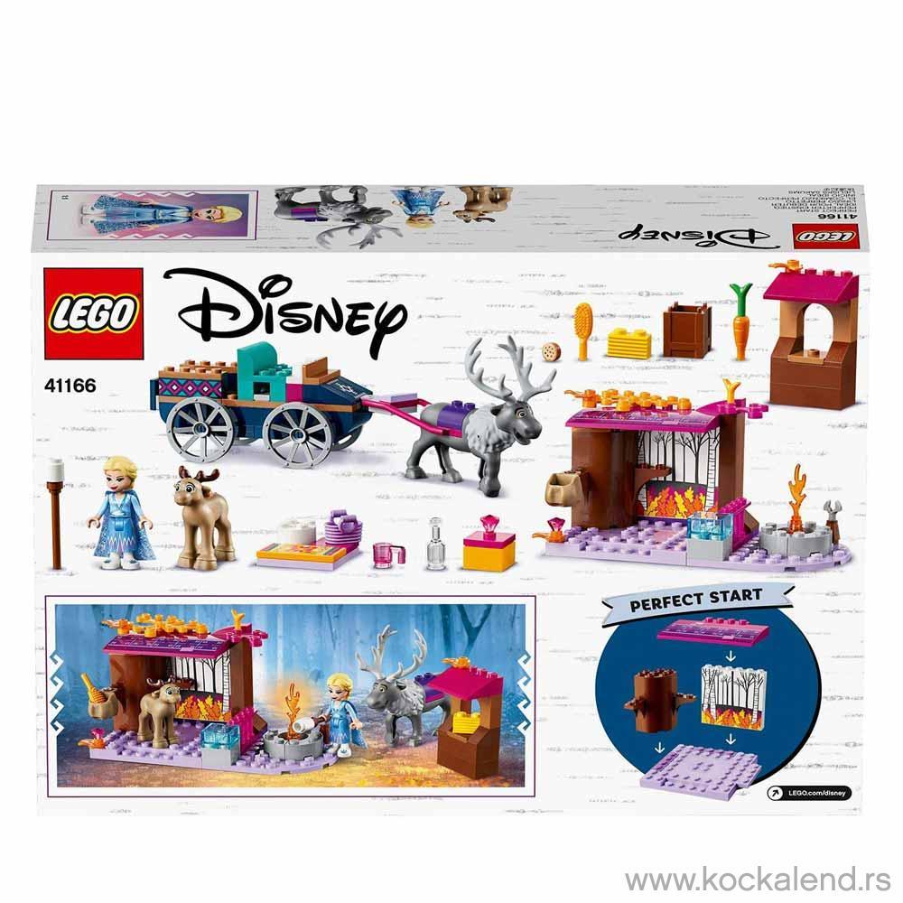 LEGO DISNEY PRINCESS ELSAS WAGON ADVENTURE