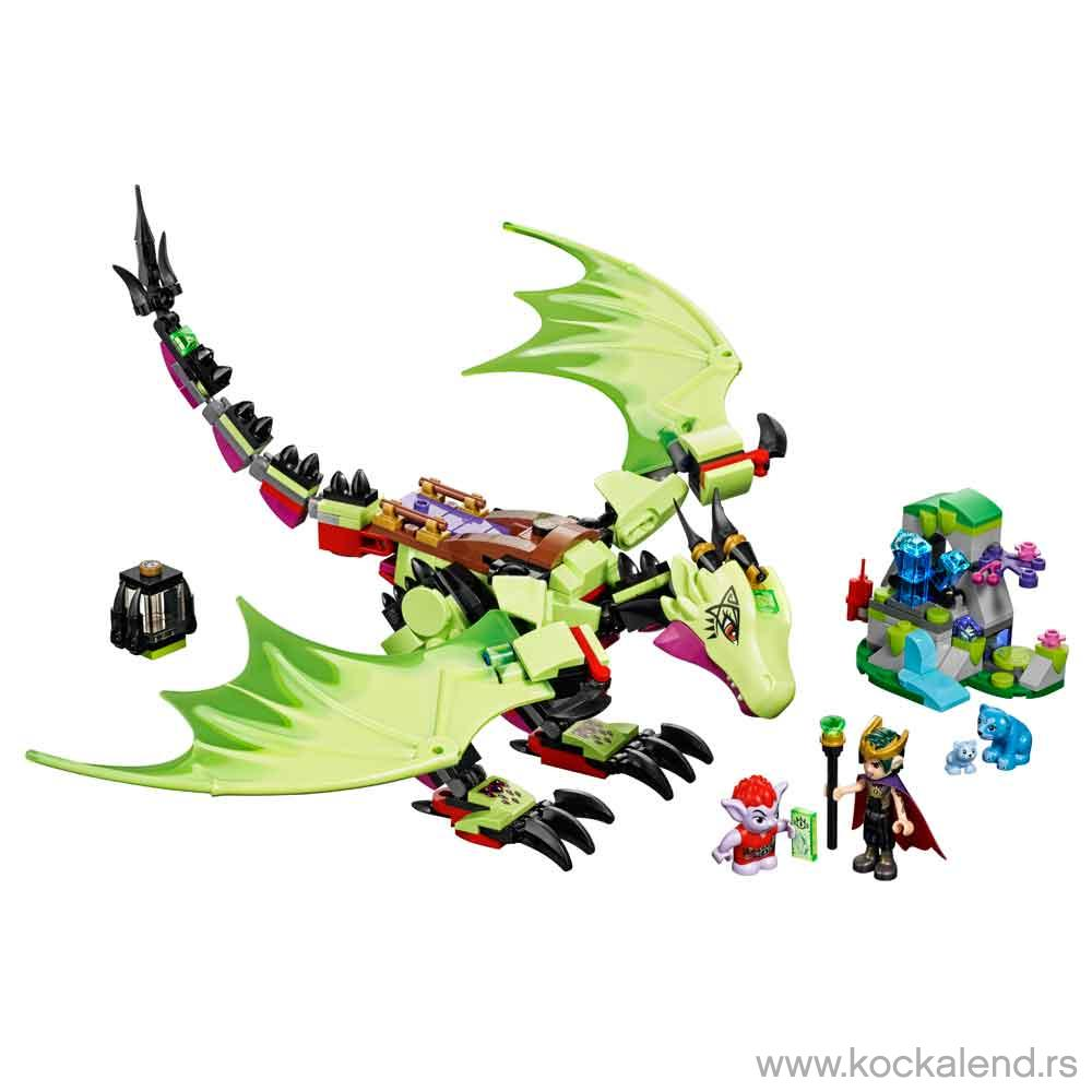 LEGO VILENJACI THE GOBLIN KING'S EVIL DRAGON